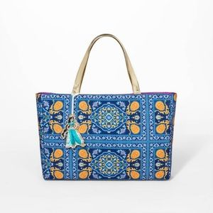 Aladdin Tote Bag Disney Princess Jasmine Purse NWT